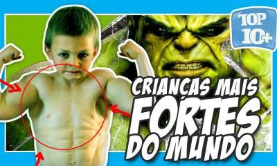Top 10 crianças mais fortes do mundo 2