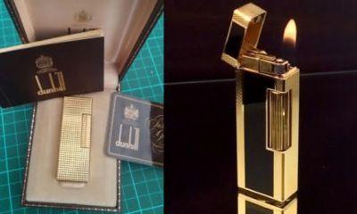 Dunhill Gold Apex entre os isqueiros mais caros do mundo