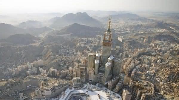 Abraj Al-Bait Towers entre os predios mais altos do mundo