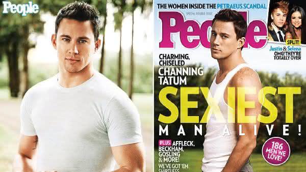 Channing Tatum entre os homens mais sexy dos ultimos 10 anos