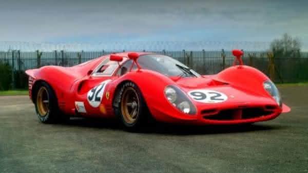 Ferrari 330 P3 entre os carros ferrari mais caras ja construidas