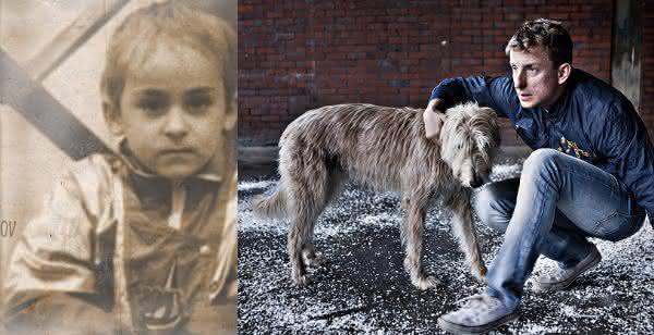 Ivan Mishukov entre os casos reais de criancas selvagens