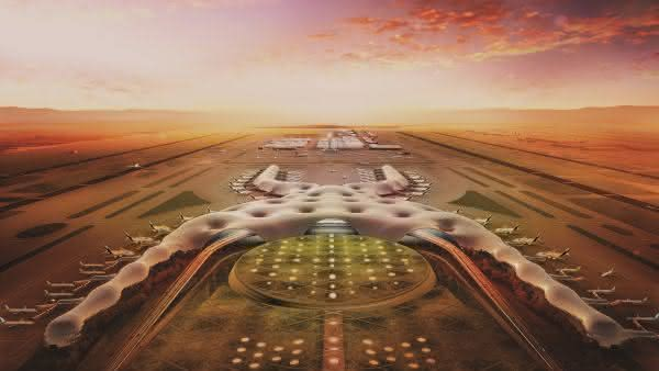 NAICM Airport entre os maiores projetos de construcoes no mundo