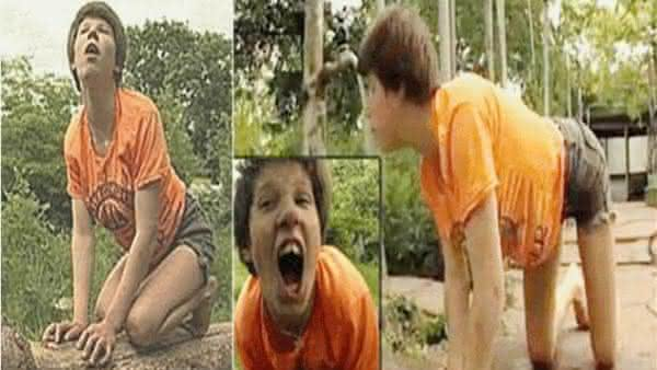 Oxana Malaya entre os casos reais de criancas selvagens