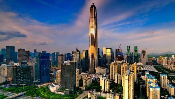 Ping An Finance Centre entre os prédios mais altos do mundo