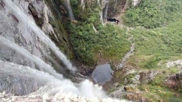 Cachoeirao entre as cachoeiras mais altas do brasil