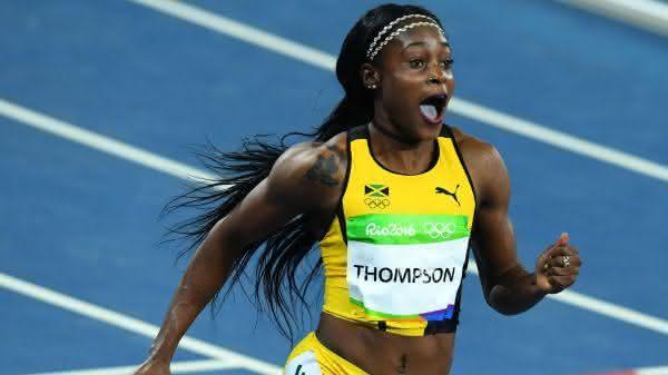 Elaine Thompson entre as mulheres mais rapidas de todos os tempos