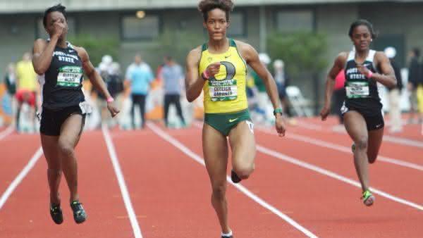 English Gardner entre as mulheres mais rapidas de todos os tempos