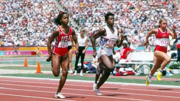 Evelyn Ashford entre as mulheres mais rapidas de todos os tempos