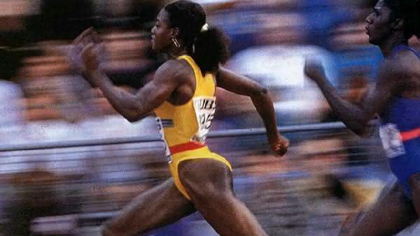 Merlene Ottey entre as mulheres mais rapidas de todos os tempos