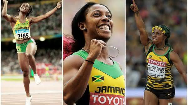 Shelly-Ann Fraser-Pryce entre as mulheres mais rapidas de todos os tempos