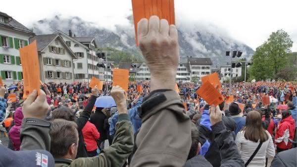 suica entre os paises mais democraticos do mundo