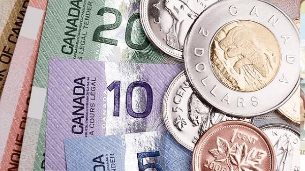 dolar canadense entre as moedas mais usadas no mundo