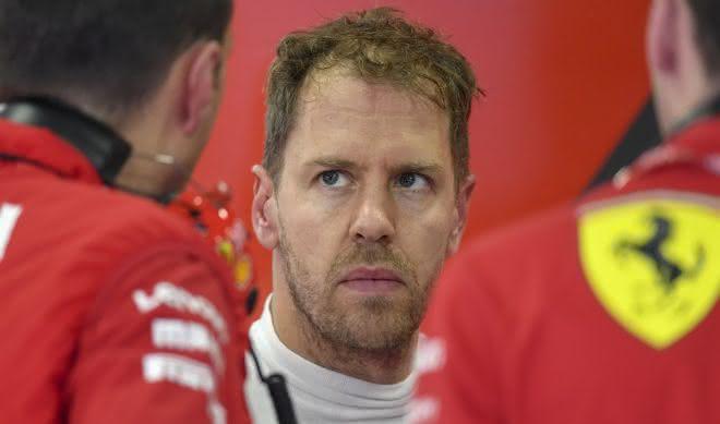 Sebastian Vettel piloto de formula 1