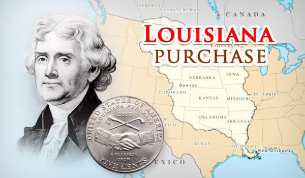 Thomas Jefferson compra luisiana