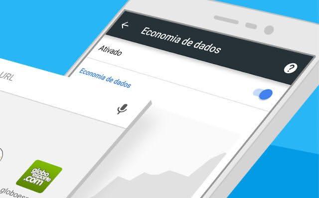 economia de dados com o navegador