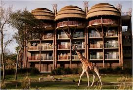 Disney's Animal Kingdom Lodge Resort Resorts en Disney para visitar en familia