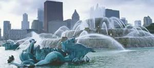 Fuente de Buckingham Top 10 mejores atracciones turísticas para visitar en Chicago.visitar chicago vacaciones en chicago los mejores hoteles de chicago atracciones turísticas para visitar en Chicago