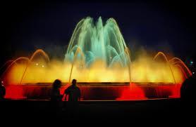 La Fuente mágica de Montjuic mejores lugares para visitar en Barcelona España