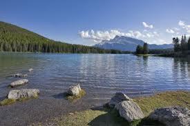 North Lake pescar en Canadá