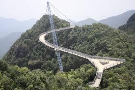 Puente de Pulau Langkawi Suspendido - Malasia Puentes Más Peligrosos del Mundo