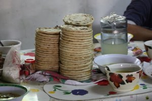 Tortilla Mejores comidas salvadoreñas