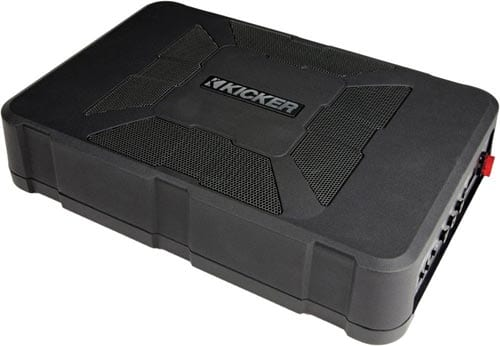 KickerHideaway Compact Powered Sub Best Car Subwoofers