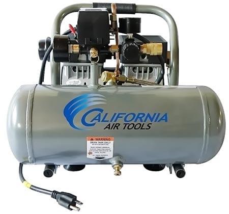 California-Air-Tools-CAT-1610A-Ultra-Quiet-and-Oil-Free-1.0-Hp-1.6-Gallon-Aluminum-Tank-Air-Compressor