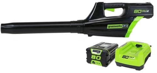 GreenWorks-GBL80300-80V-500CFM-Cordless-Leaf-Blower-includes-2.0AH-Battery-and-Charger