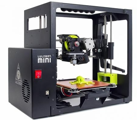 LulzBot-Mini-Desktop-3D-Printer