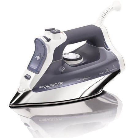 Rowenta-DW8080-Pro-Master-Auto-Shut-Off-Steam-Iron-with-400-Hole-Stainless-Steel-Soleplate,-1700-Watt,-Blue