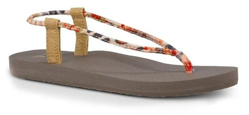 Sanuk-Womens-Yoga-Sling-Fling-Prints-Sandal-Flip-Flops-Slipper-Footwear