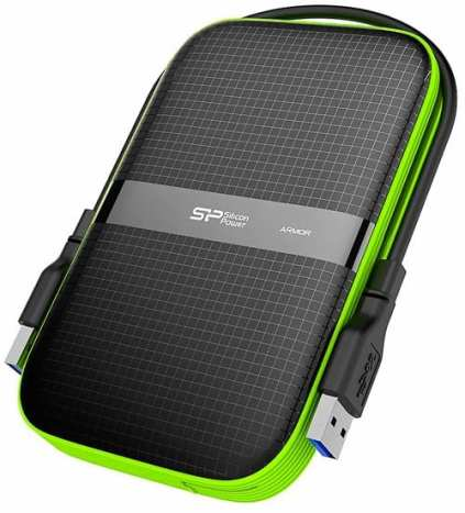 Silicon-Power-1TB-Rugged-Armor-A60-Shockproof--Water-Resistant-2.5-Inch-USB-3.0-Military-Grade-Portable-External-Hard-Drive-Black--SP010TBPHDA60S3K