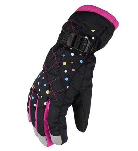 Waterfly-Fashion-Women's-Femal-Warm-Waterproof-Winter-Outdoor-Glove-Cycling-Gloves-Biking-Gloves-Snowmobile-Snowboard-Ski-Gloves-Athletic-Gloves-Mittens