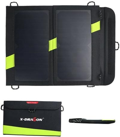 X-DRAGON-14W-Dual-USB-Sunpower-Solar-Charger-Panel-with-iSolarTechnology