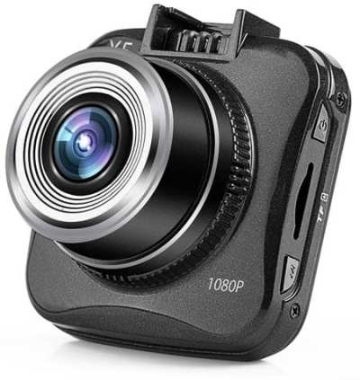 Dexors-X5-Dash-Cam-Pro-Car-Dashboard-Camera-1920x1080p-30fps-170degree-Wide-Angle-with-G-sensor,-WDR-Superior-Quality-Night-Vision,-6-Glass-Lenses,-2.0-inch-LCD-and-8g-MicroSD-Included