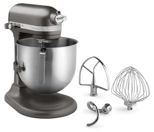 KitchenAid-KSM8990DP-NSF-Certified-Commercial-Series-8-Qt-Bowl-Lift-Stand-Mixer,-Dark-Pewter