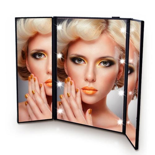 Onson-Tri-Fold-Led-Lighted-Travel-portable-Mirror-Compact-for-Cosmetic-Makeup-For-Vanity-Style