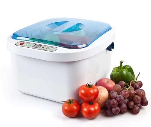 12.8L-Home-Use-Ultrasonic-Ozone-Vegetable-Fruit-Sterilizer-Cleaner-Washer-Health-by-Moredental