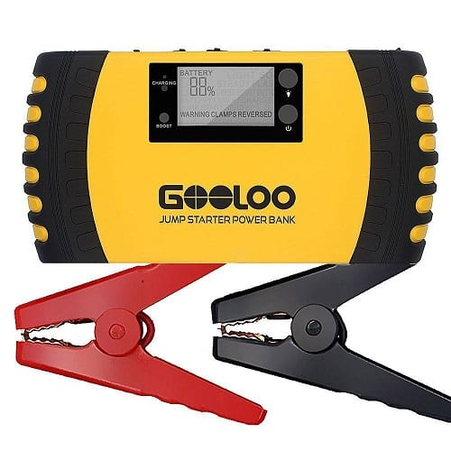 Top 10 Best Portable Car Battery Jump Starters in 2020 Reviews