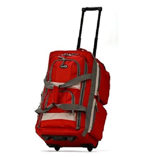 Top 10 Best Rolling Duffel Bags Reviews in 2018