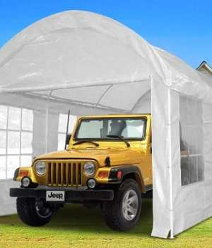 Top 10 Best Portable Garages for your Heavy Duty Vehicle in 2018 Reviews