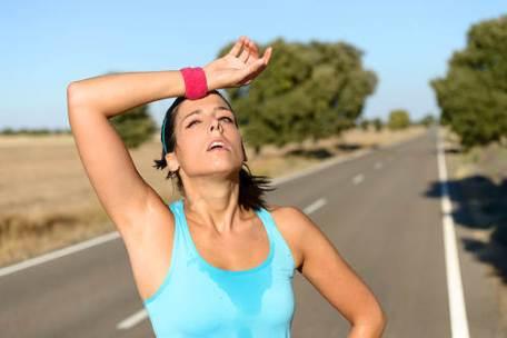 El sudor ayuda a desintoxicar su cuerpo