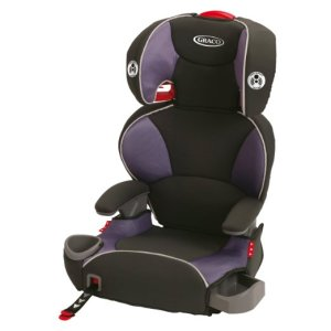 4. Graco Affix Youth Booster Seat with Latch System, Grapeade