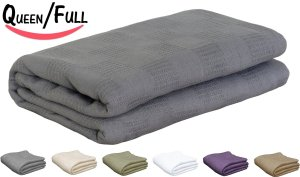 7. Utopia Bedding Cotton Throw Blanket
