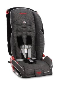 9. Diono Monterey High Back Booster with Adjustable Headrest, Bloom