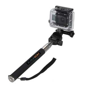 1.Floureon Extendable Telescopic Handheld Selfie Stick