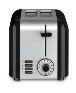 4. Cuisinart CPT-320 Compact Stainless 2-Slice Toaster, Brushed Stainles