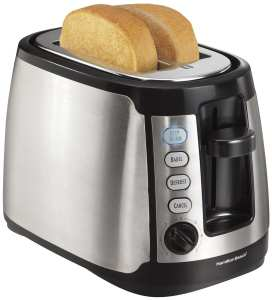 5. Hamilton Beach 22811 Keep Warm 2-Slice Toaster