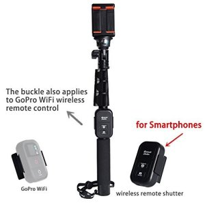 6. Gorad Gear Photo Professional Selfie Stick with Adjustable Phone Clamp